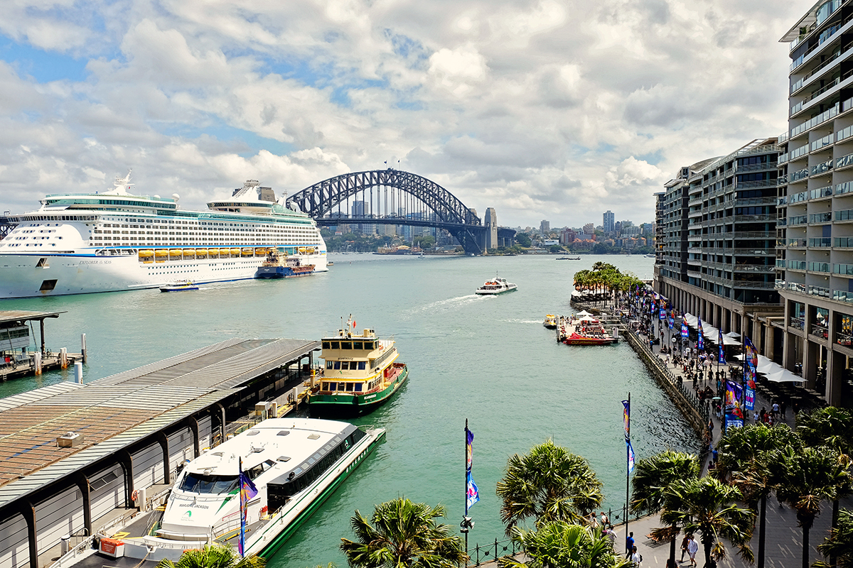 Cirular Quay Sydney Australia