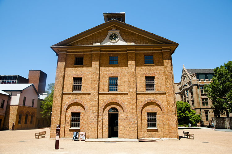 Hyde Park Barracks - Sydney - Australia