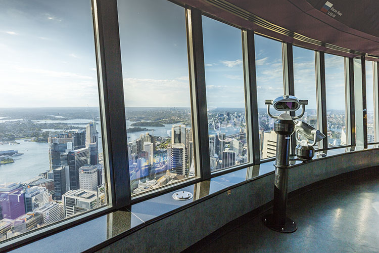 Sydney Tower: things to do in sydney for kids