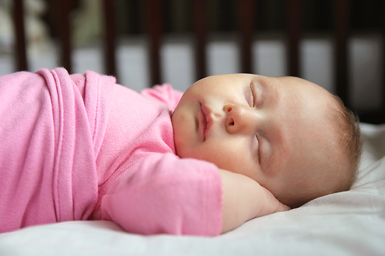 Baby Sleeping 2 months