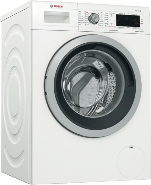 Bosch Front Loading 8 kg automatic washing machine review