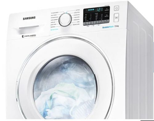 Samsung BubbleWash Steam 8.5kg Front Load Washer