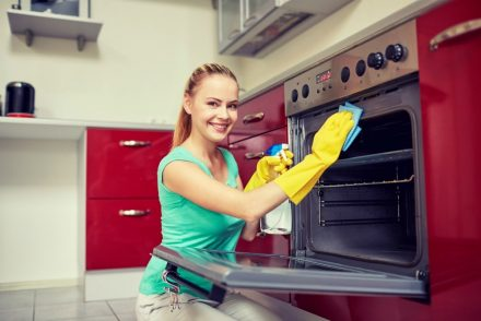 how to spring clean kitchen appliances