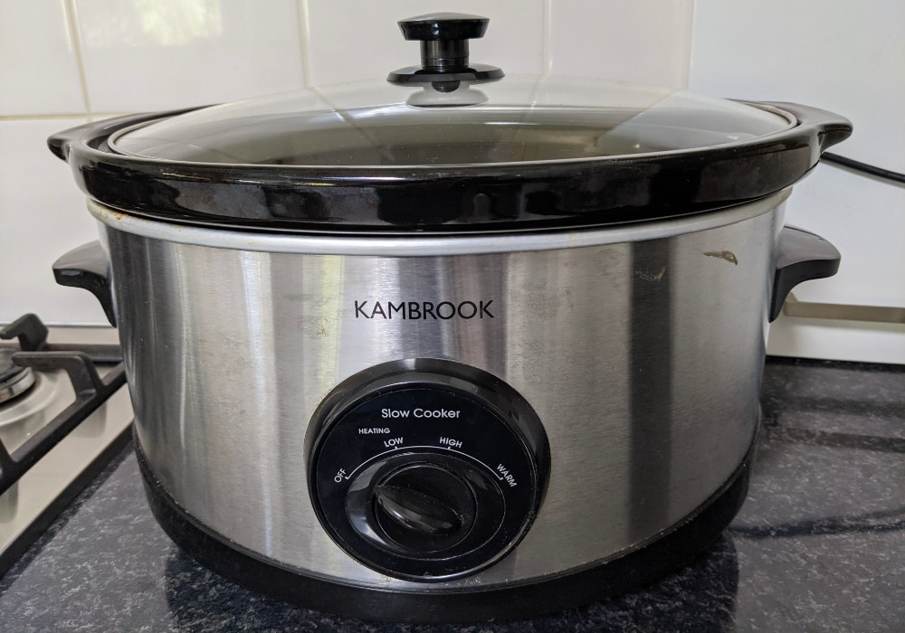 slow cooker for homemade house fragrance
